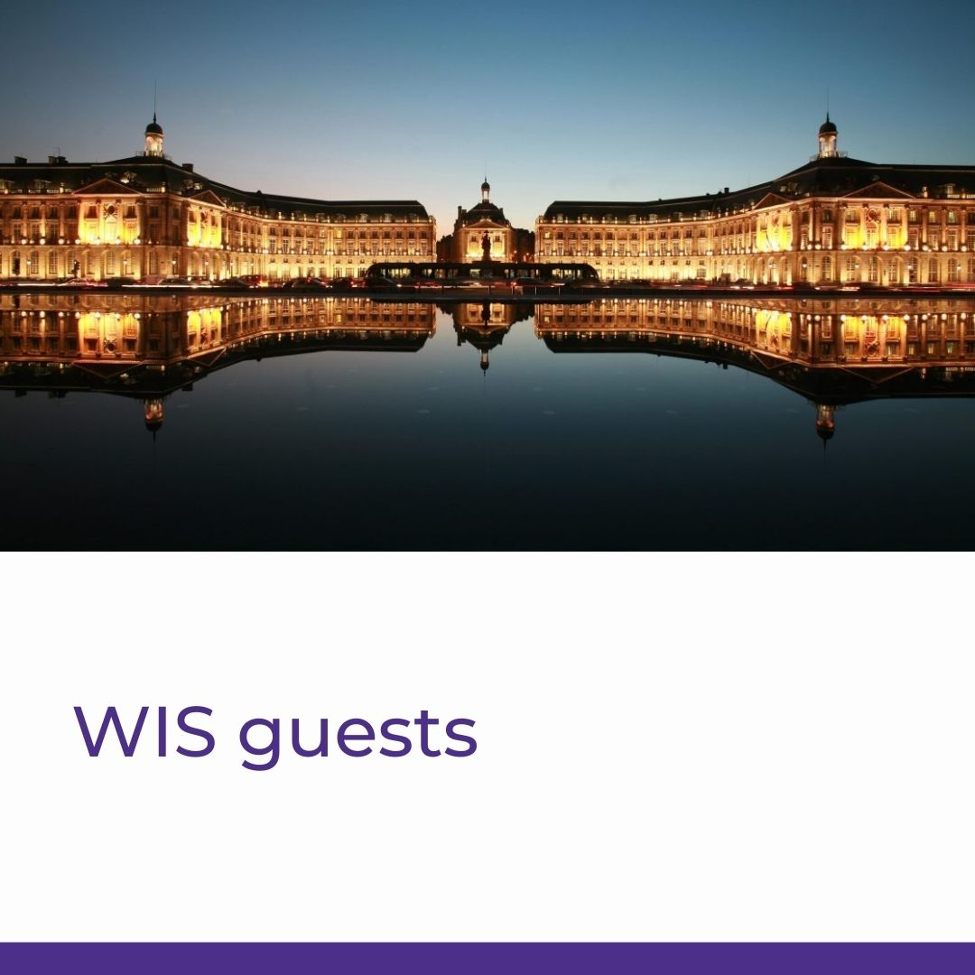 WIS guests - Application form